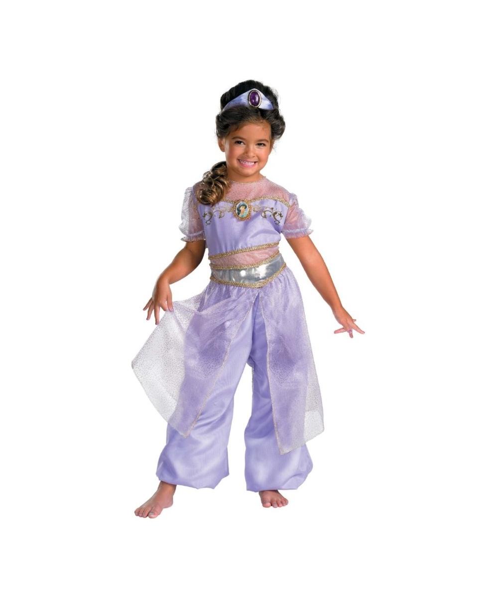 Jasmine Kids Disney Costume Girl Jasmine Costumes