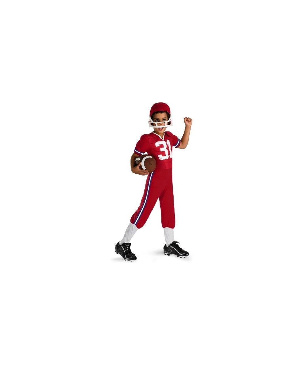 Linebacker Boys Costume  sc 1 st  Wonder Costumes & Lazy Town Sportacus Kids Movie Superhero Costume