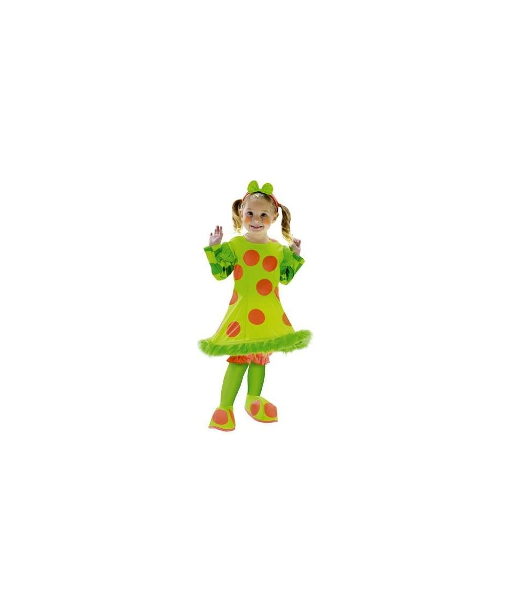 Lolli Clown Toddler Costume