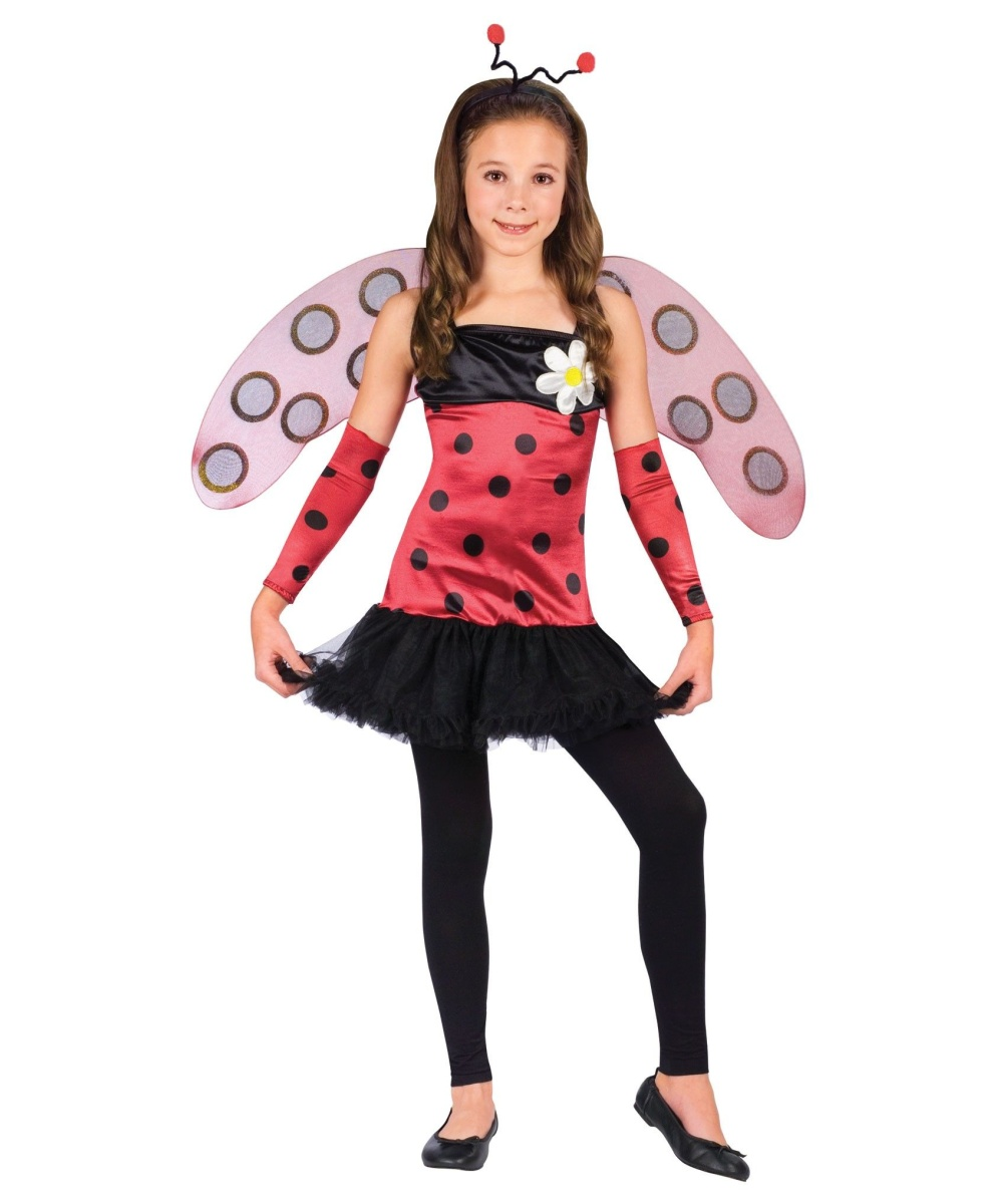 Lovely Ladybug Kids Costume  sc 1 st  Wonder Costumes & Love Bug Kids Costume - Halloween Costume