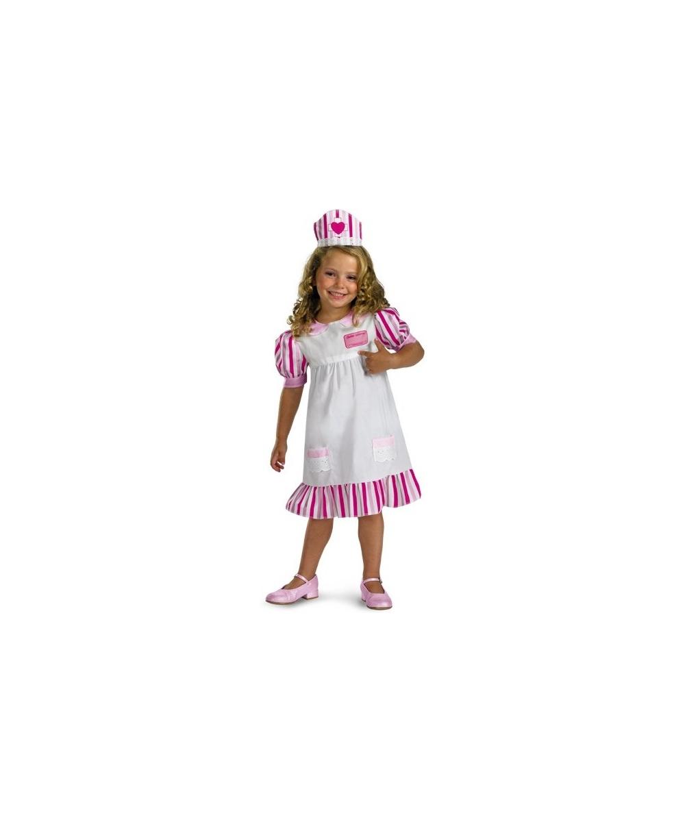 aa459d9ecebf9 Nurse Barbie Kids Costume - Girl Nurse Halloween Costumes