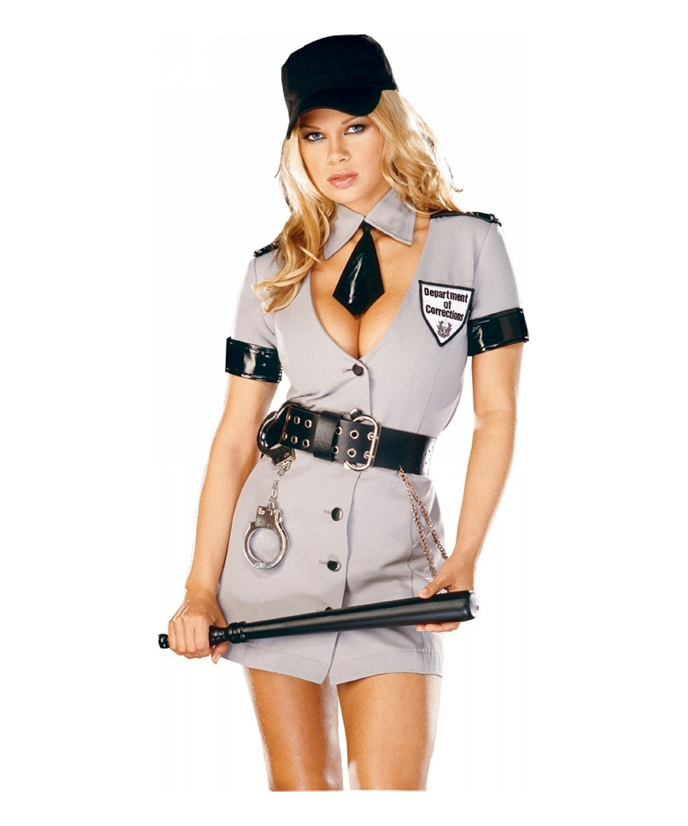 Corrections Officer Costume Adult Halloween Costumes