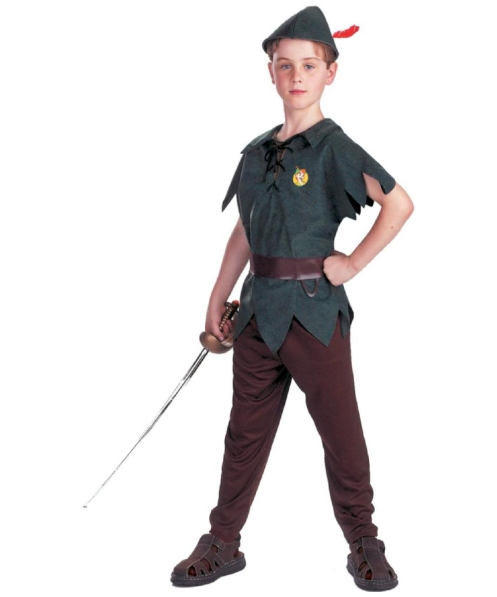 8458ea575baad Peter Pan Kids Disney Costume - Disney Costumes