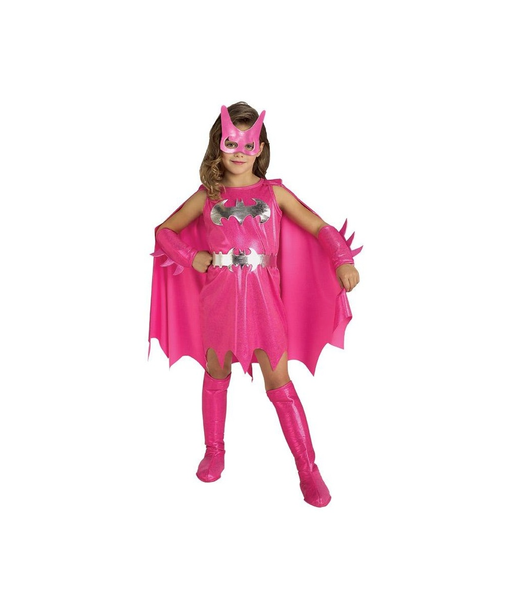 sc 1 st  Wonder Costumes & Pink Batgirl Kids Movie Superhero Costume - Girls Costume