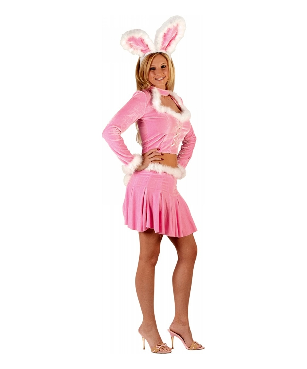 Sexy pink bunny costume