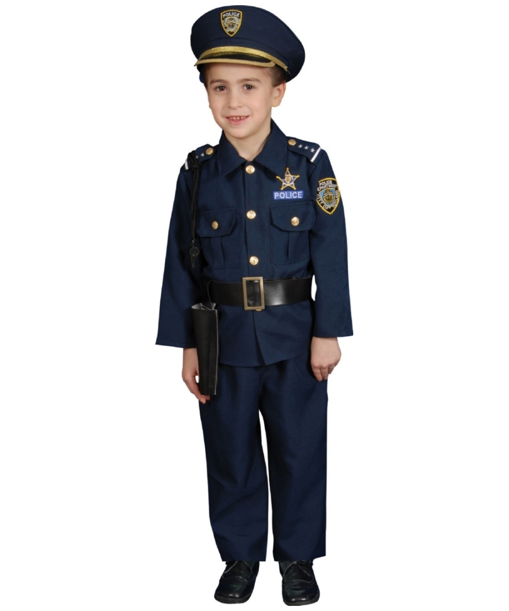 Kids Police Officer Costume - Police Costumes
