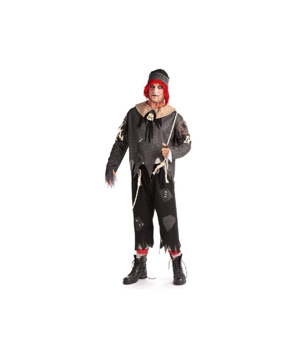 sc 1 st  Halloween Costumes & Adult Rag Doll Boy Scary Halloween Costume - Women Costumes