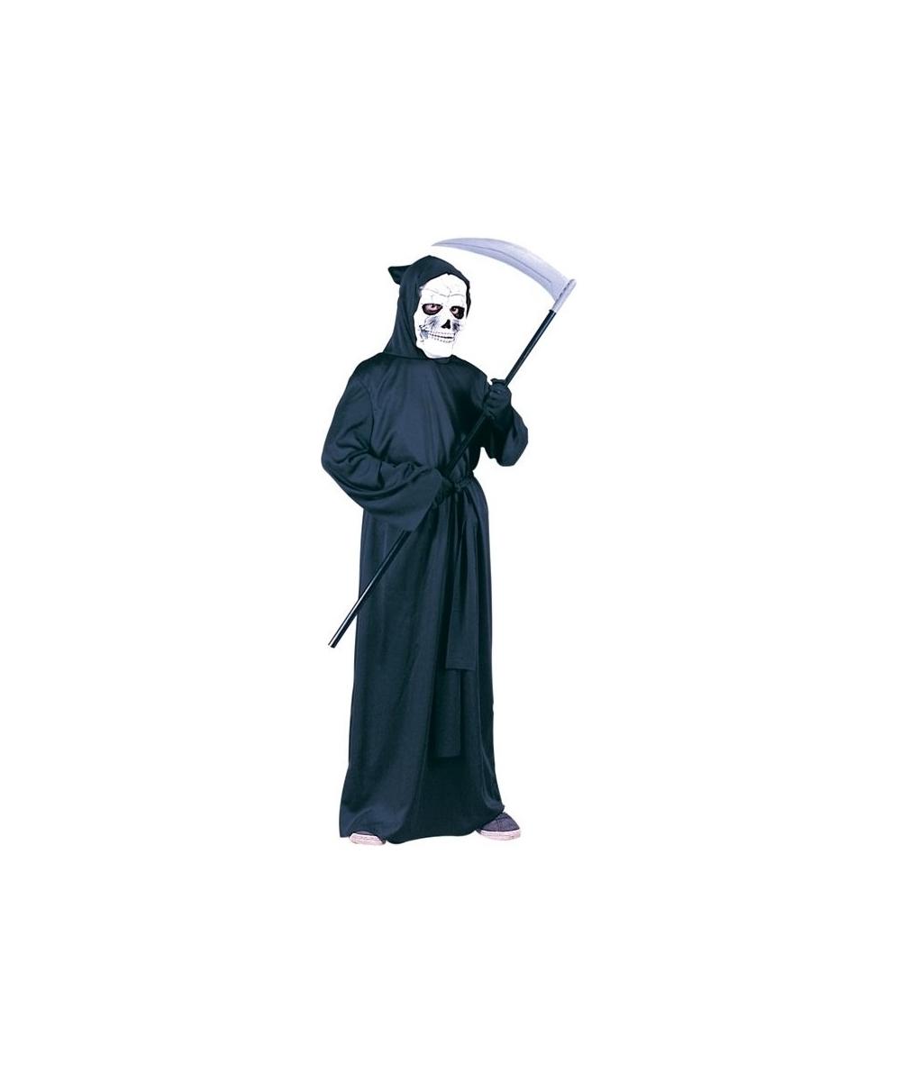 sc 1 st  Halloween Costumes & Grim Reaper Kids Scary Halloween Costume - Boys Costume