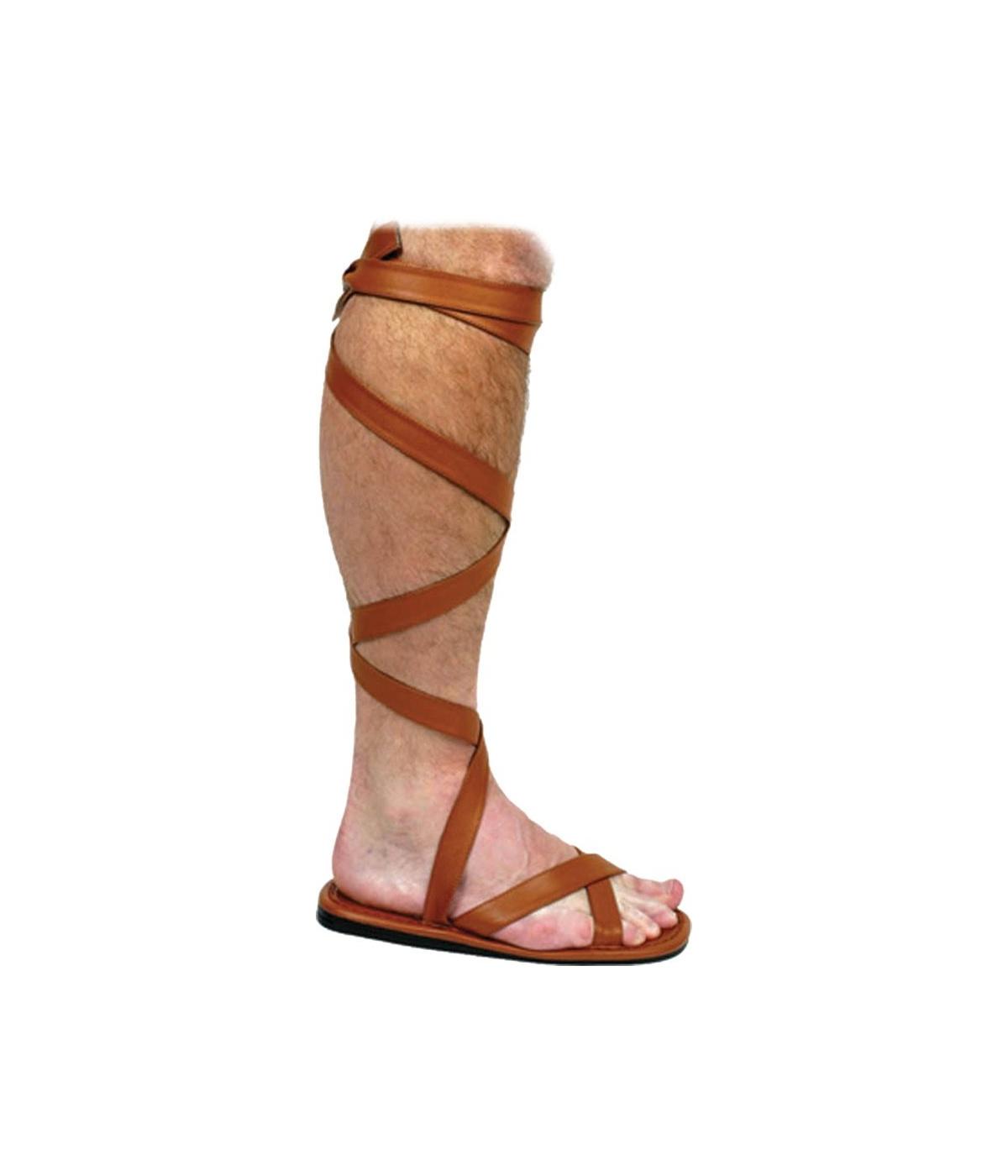 46d4ff1bf5f Roman Sandal Shoes Adult - Men Roman Costumes