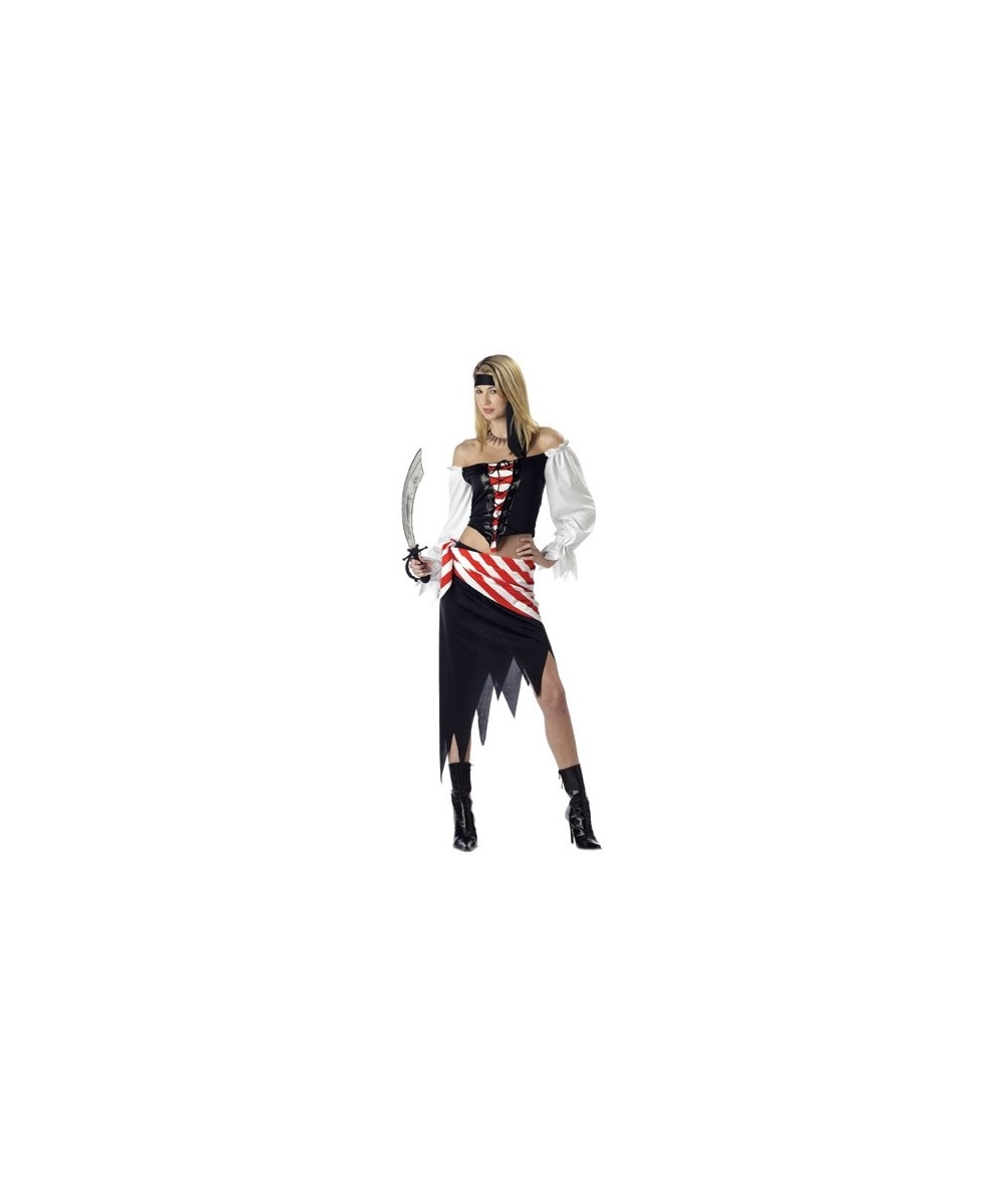 sc 1 st  Wonder Costumes & Ruby the Pirate Beauty Teen Costume - Girls Costumes