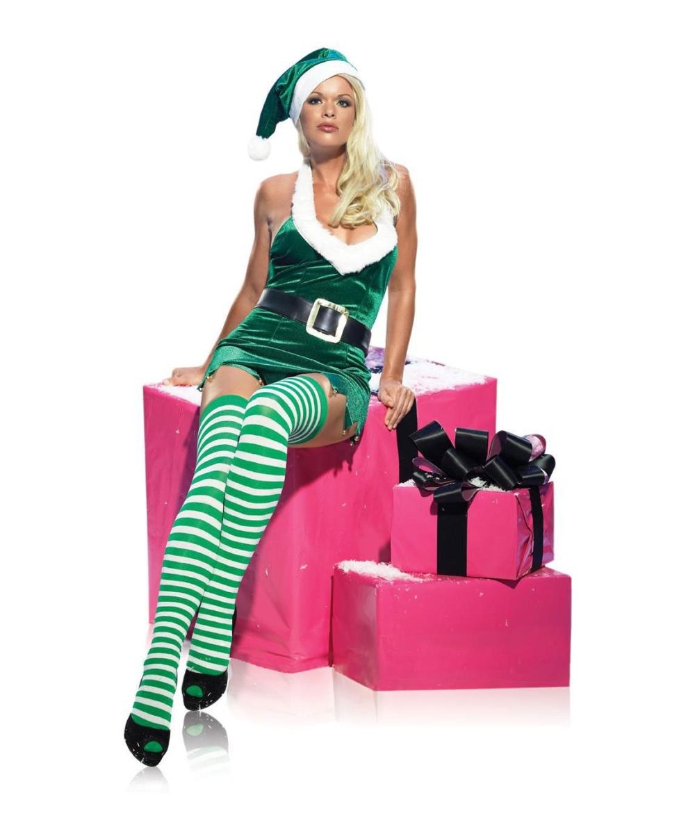 sc 1 st  Wonder Costumes & Adult Sexy Elf Costume - Women Costume