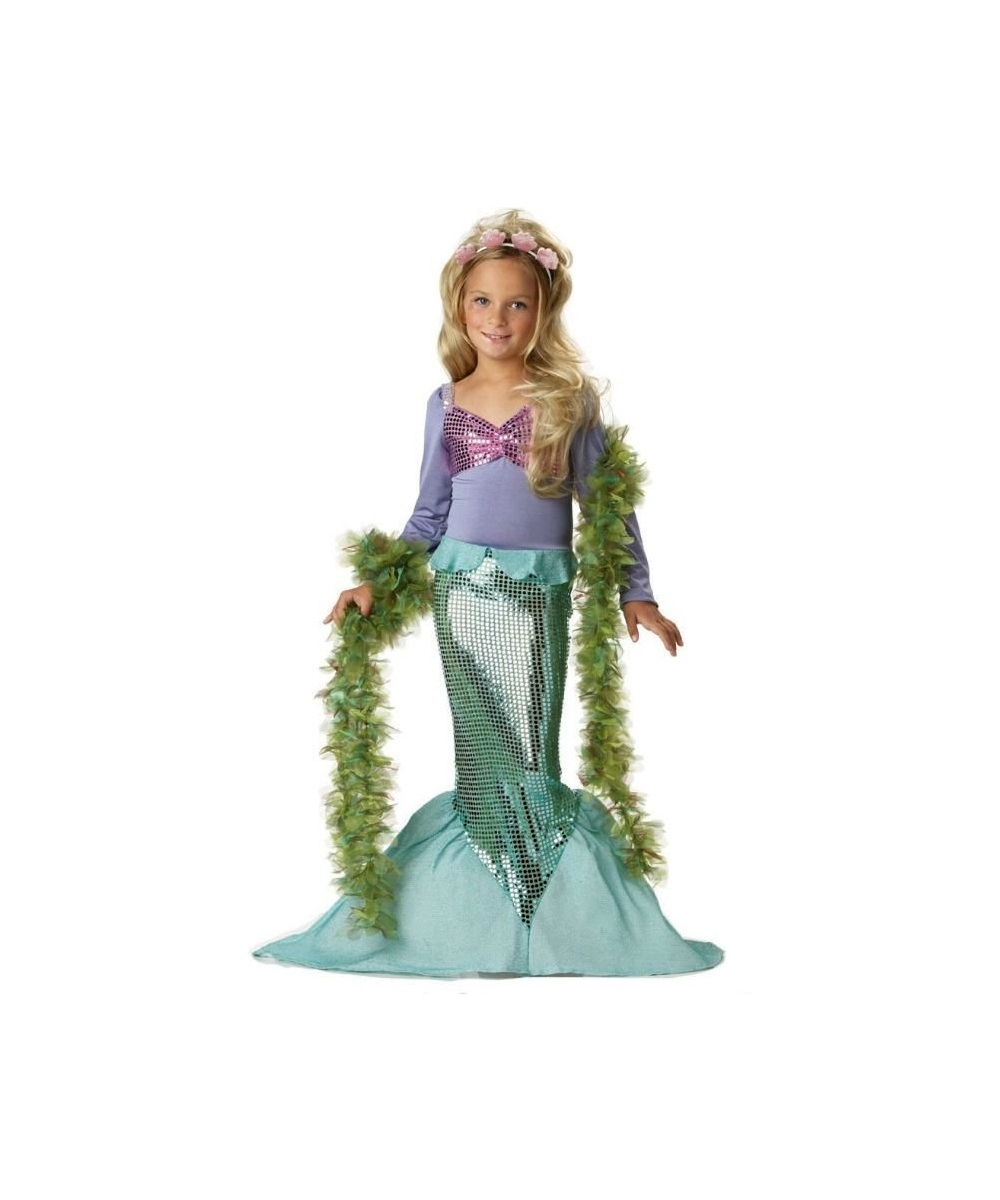 Sparkling Mermaid Girls Costume