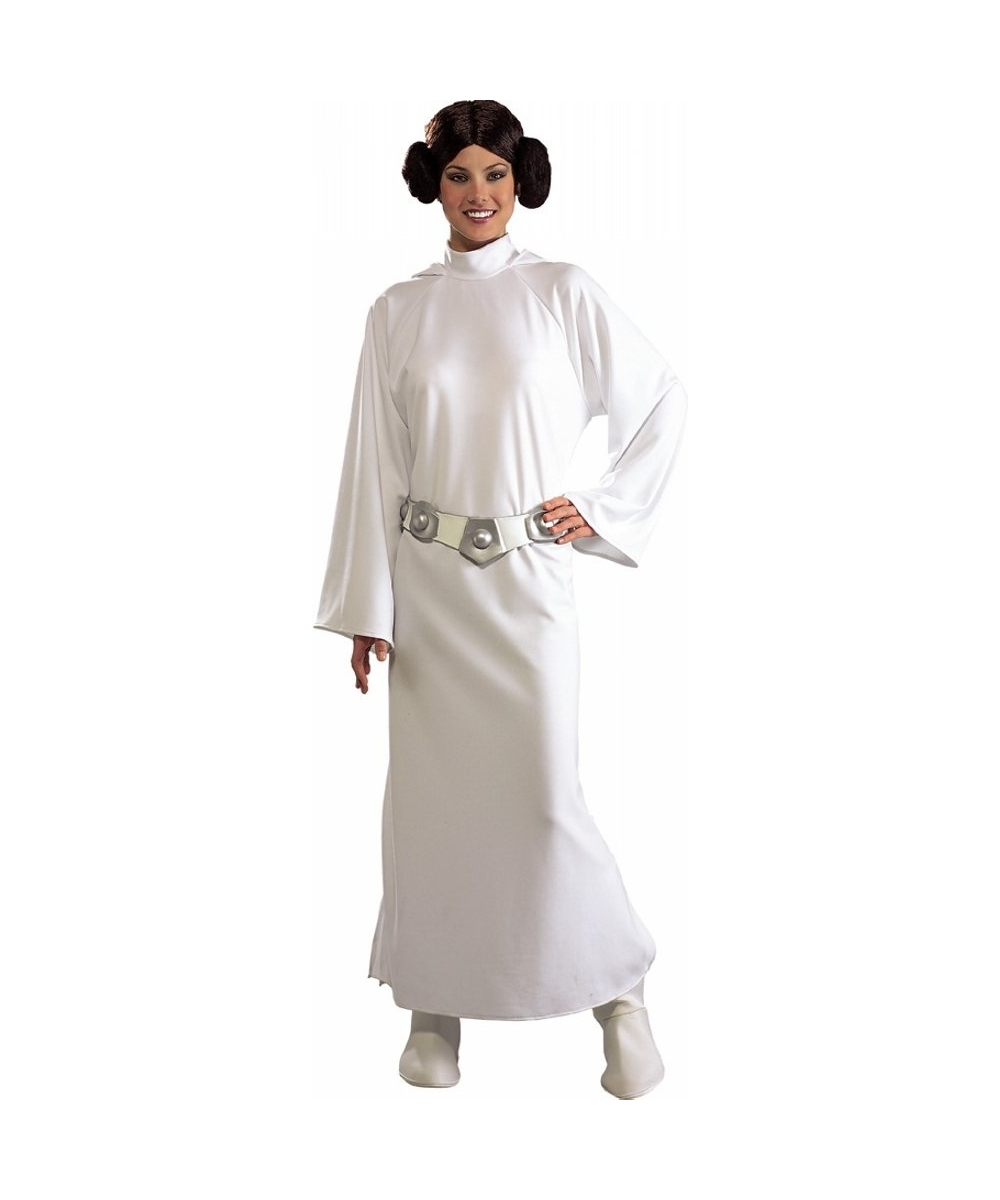 Princess Leia Star Wars Women Costume Deluxe  sc 1 st  Wonder Costumes & Jedi Princess Leia Star Wars Adult Costume - Men Movie Costumes
