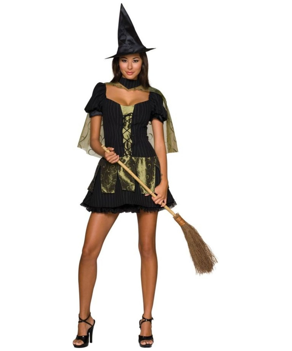 sc 1 st  Halloween Costumes & Adult Sexy Wicked Witch of the West Halloween Costume