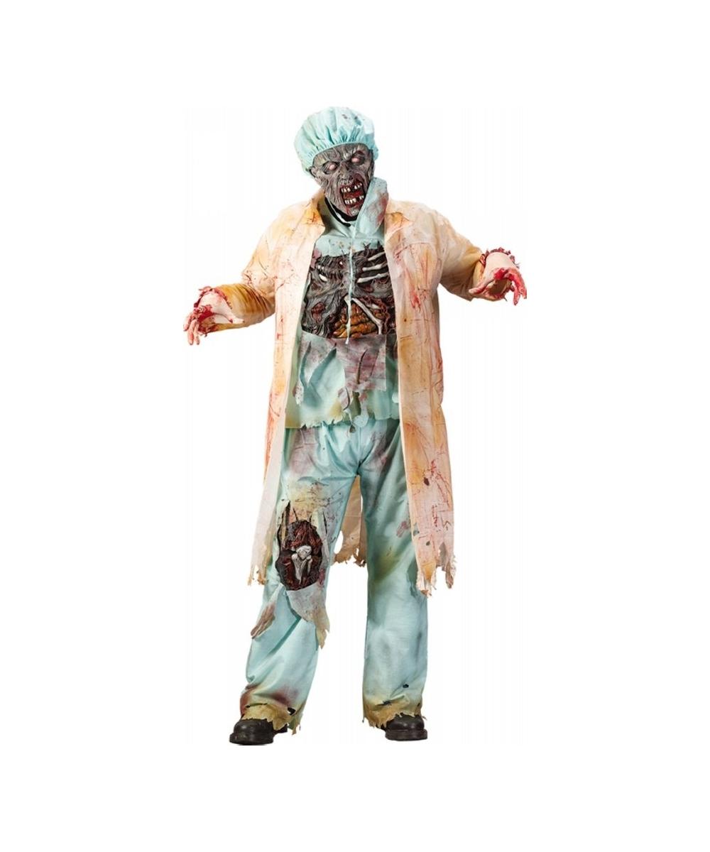 Halloween Costumes Scary Men.Zombie Doctor Halloween Adult Costume Men S Costumes