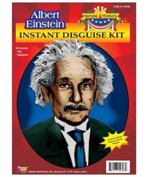 Albert Einstein Heroes in History Accessory Kit