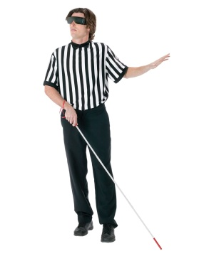 Blind Referee Men Costume