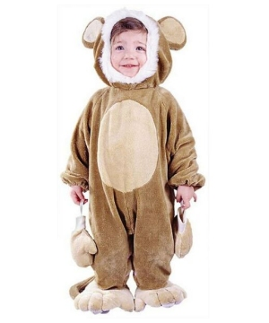 Cuddly Monkey Baby Costume
