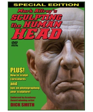 Dvd Sculpting Human Head