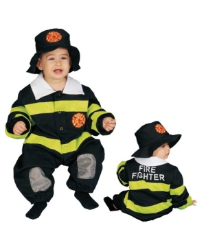 Baby Fire Fighter Bunting Infant Costume