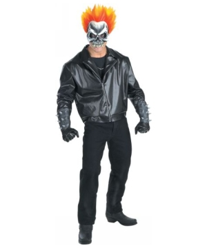 ghost rider halloween costume for adults