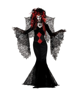 Nightmare Black Widow Women Costume  sc 1 st  Wonder Costumes & Nightmare Black Widow Costume - Adult Halloween Costumes