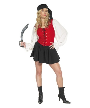 Pirate Booty Womens Costume