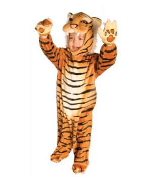 Tiger Plush Toddler Costume