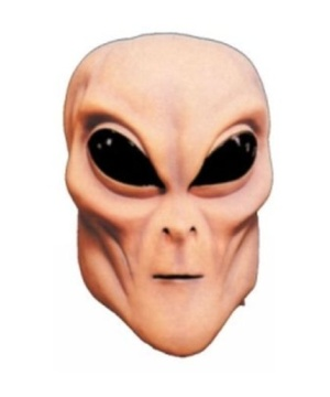 Tan Alien Adult Mask