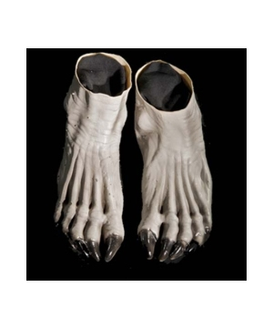 Grey Werewolf Adult Feet
