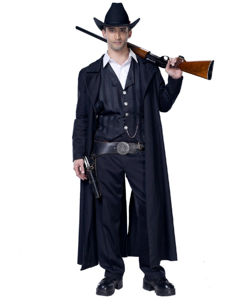 sc 1 st  Wonder Costumes & Adult Bounty Hunter Cowboy Costume - Men Halloween Costumes