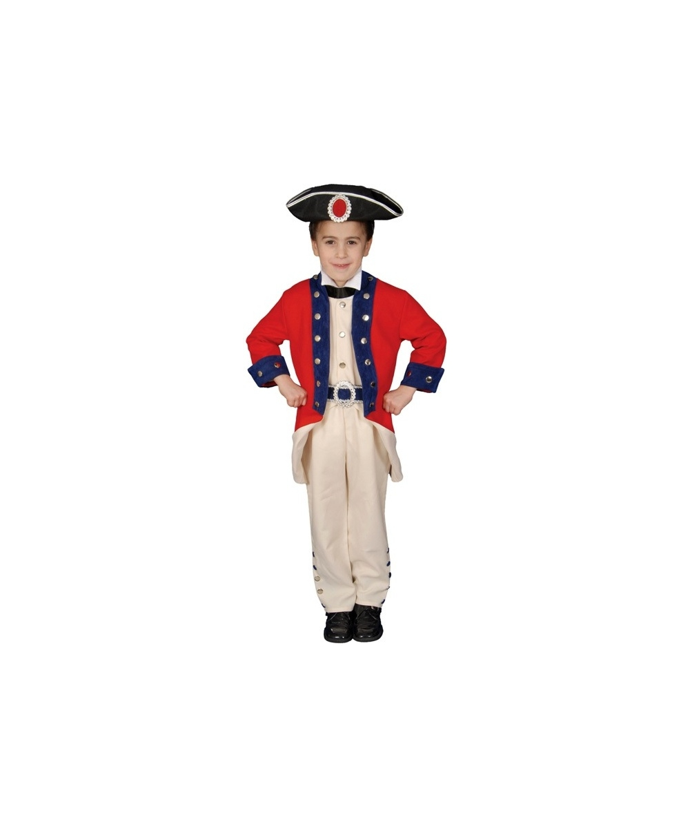 Colonial Soldier Kids Costume