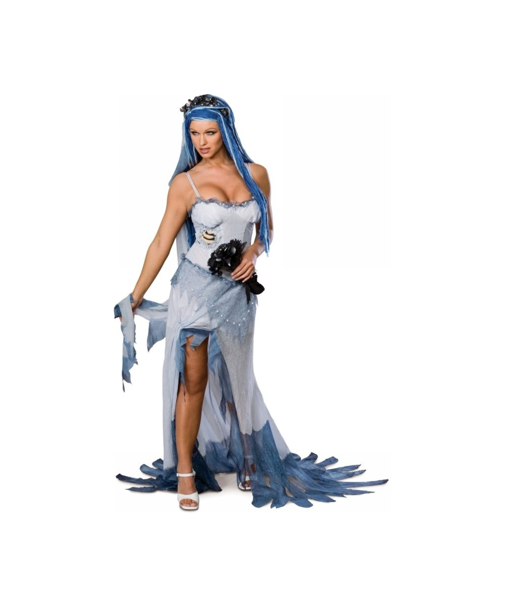 Bride Corpse Sexy Adult Costume , Women Bride Costumes
