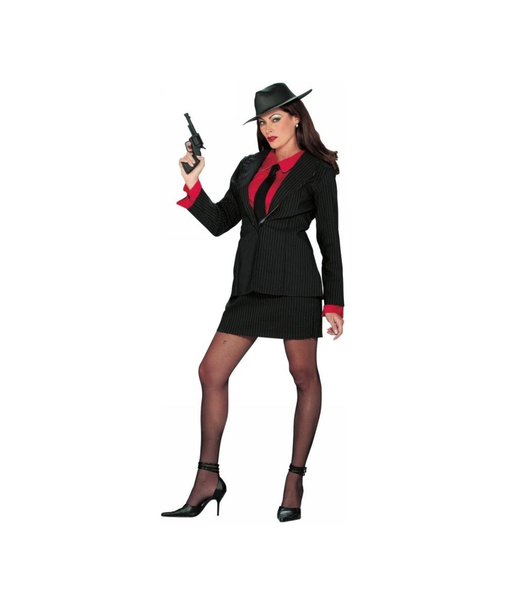 gansta lady costume - 1920s halloween costumes