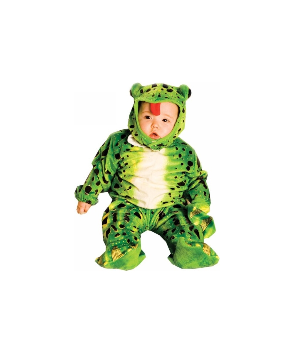 frog green baby costume plush boys costumes