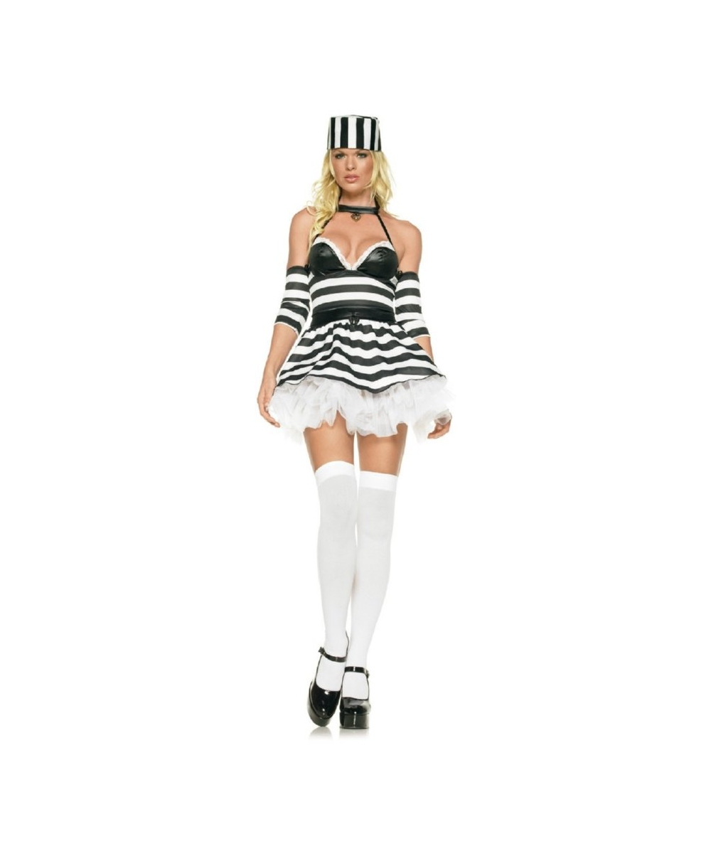 Jail Bait Sexy Womens Costume
