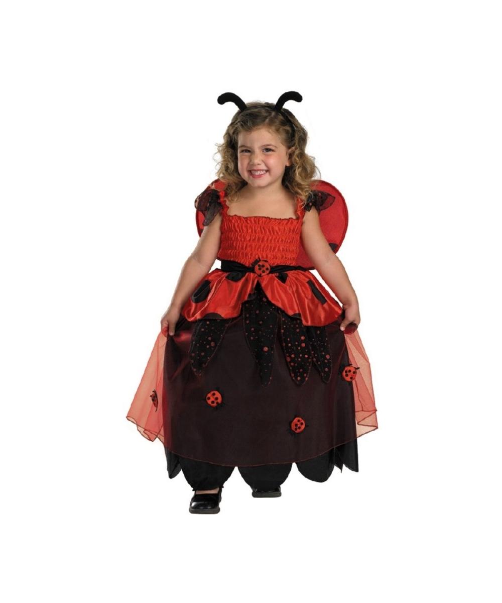 sc 1 st  Halloween Costumes & Ladybug Bugz Lil Love Kids Costume - Girl Ladybug Costumes
