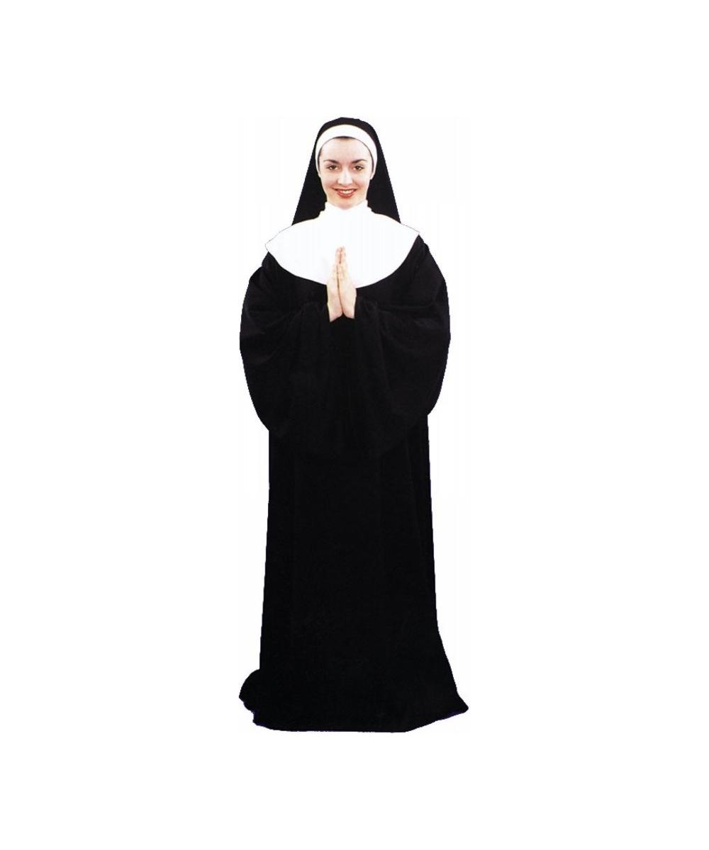 sc 1 st  Wonder Costumes & Adult Nun Costume - Adult Halloween Costumes