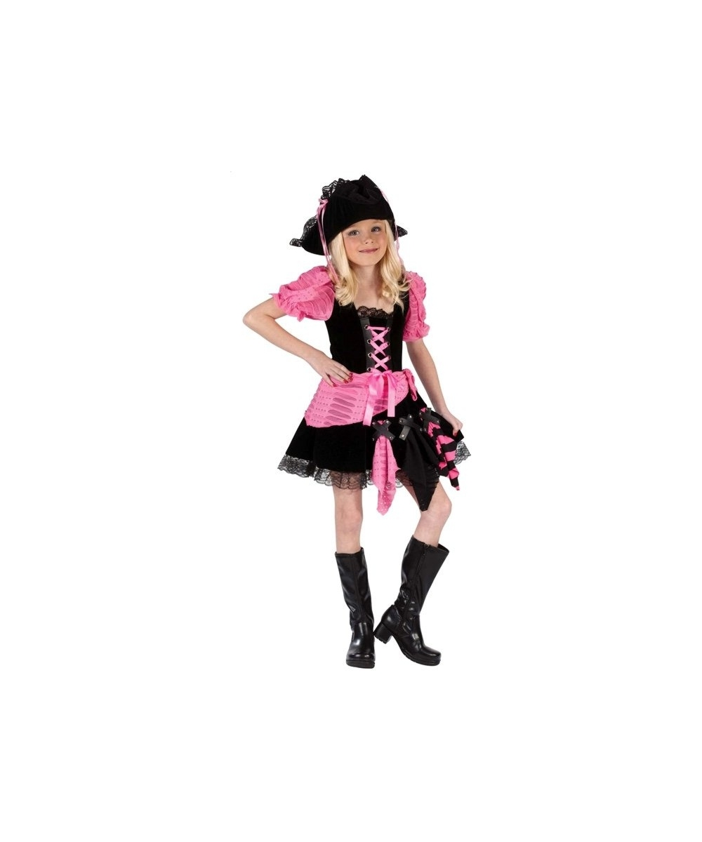 sc 1 st  Wonder Costumes & Kids Pink Punk Pirate Costume - Girls Costumes