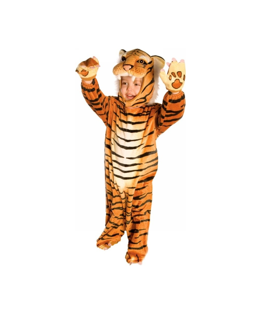 Tiger Plush Costume - Boy Tiger CostumesRealistic Tiger Costume