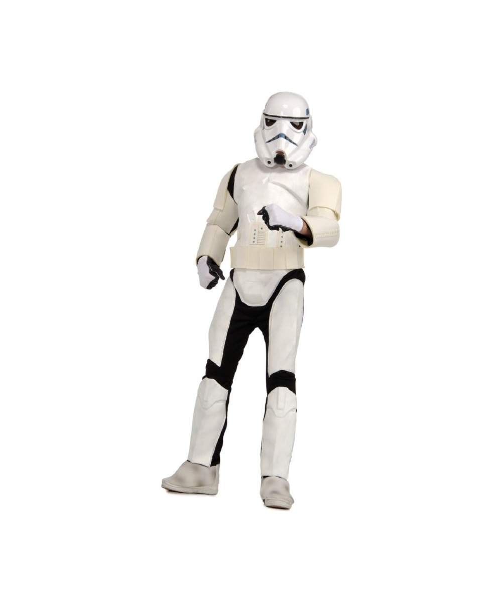 Star Wars Stormtrooper Men Costume Deluxe  sc 1 st  Wonder Costumes & Adult Stormtrooper Movie Halloween Costume - Men Costume