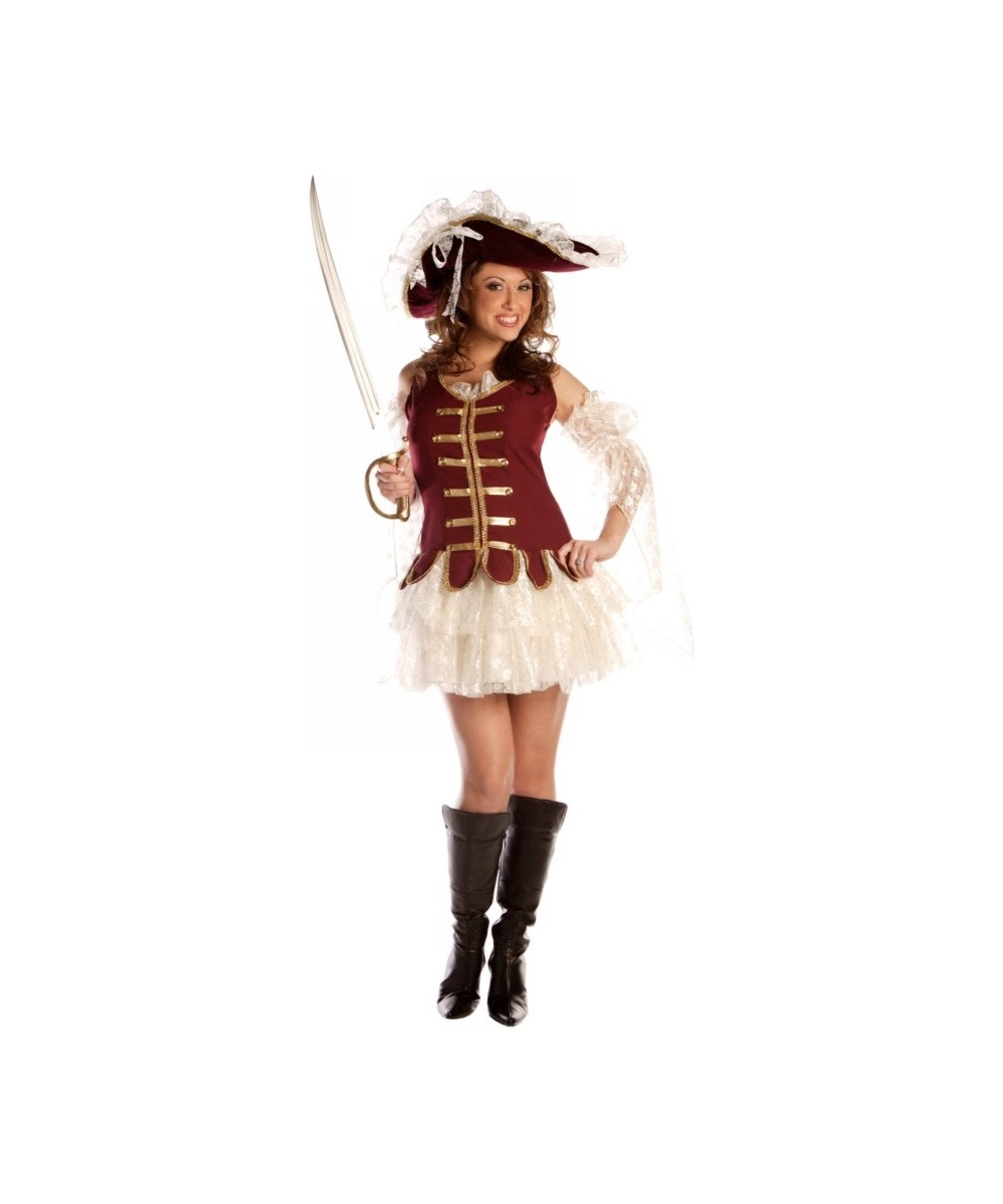 Treasure Hat Pirate Costume