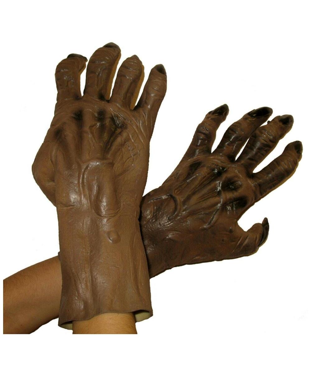 Werewolf Brown Hands - Werewolf Werewolf Costume