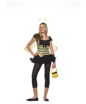 Bee Sunflower Teen Costume