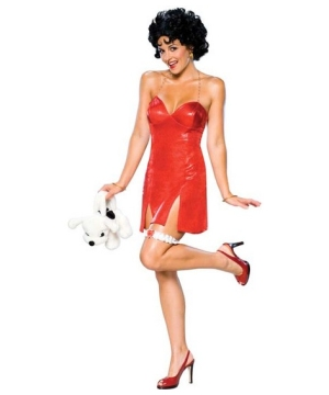 Betty Boop Womens deluxe Costume