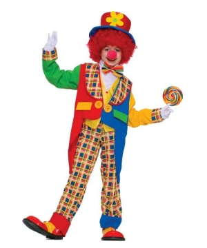 Clown on the Town Boys Costume
