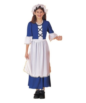 Colonial Kids Costume  sc 1 st  Wonder Costumes & Pilgrim Costumes u0026 pilgrim costume accessories for kids u0026 adults