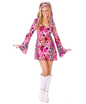 Disco Feeling Groovy Women Costume