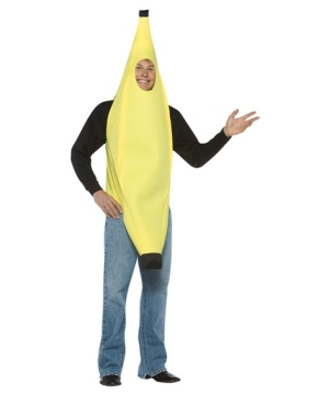 Funny Banana Adult Costume