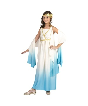 Greek Sky Goddess Girls Costume